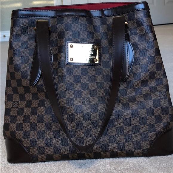 Louis Vuitton Handbags - Louis Vuitton Hampstead PM Damier Ebene Canvas d9a1797080060